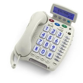 ClearSounds CSC50 Amplified Telephone - White by ClearSounds