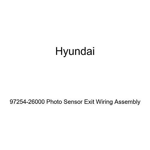 Genuine Hyundai 97254-26000 Photo Sensor Exit Wiring Assembly