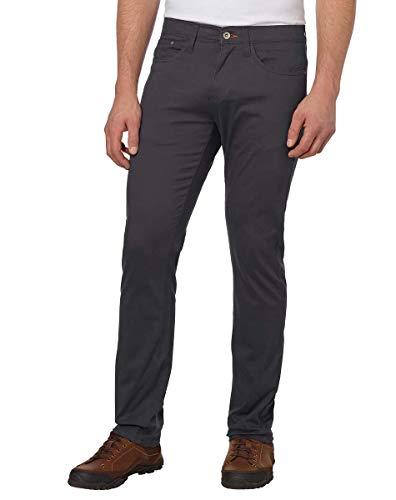 Weatherproof Vintage Men's 5 Pocket Twill Pant (Charcoal, 34 x ()