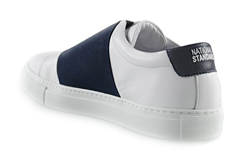 NATIONAL STANDARD Herren Low Sneaker Navy Band