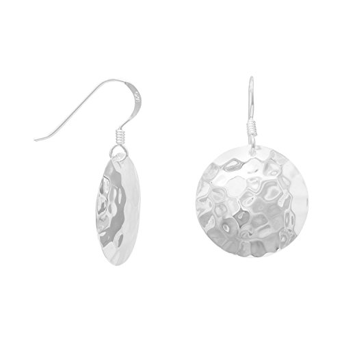 925 Sterling Silver Round Hammered French Wire - French Silver Hammered Sterling Wire