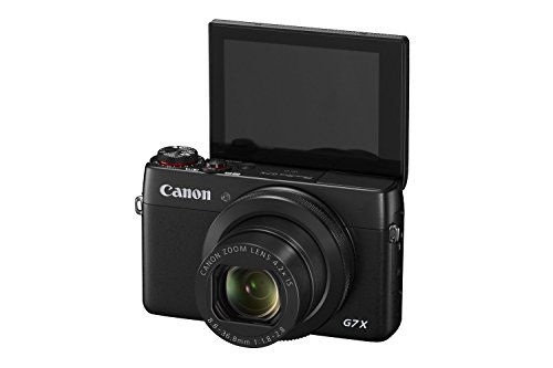 18 X Optical Zoom Digital Camera (Canon PowerShot G7 X 20.2 MP CMOS Digital Camera with 4.2x optical Zoom (24mm-100mm), Built-in WiFi and NFC, 3 Inch Touchscreen, 1080P Video (Black) (Certified Refurbished))