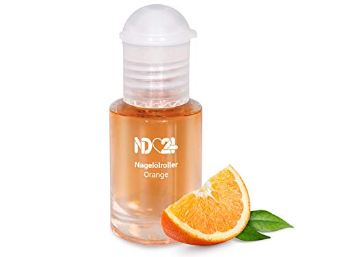 Nagelölroller Orange - 6ml - als praktischer Roller - Nagelhaut-Öl Nagelpflege-Öl Nagelhautpflege-Öl nd24