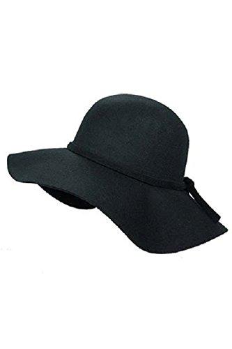 Buy Hatiya 100% Wool Felt Floppy Hat Online at Low Prices in India -  Amazon.in f0d406da4f3