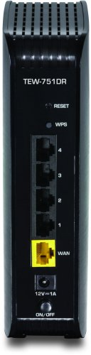31pRh7UyajL - TRENDnet Wireless N600 Concurrent Dual Band Router, TEW-751DR