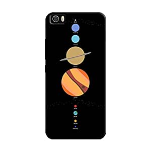 Cover It Up - School Project Planets Mi5 Hard Case