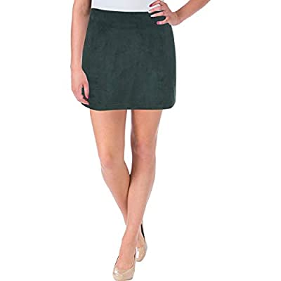 French Connection Womens Patty Faux Suede Special Occasion Mini Skirt