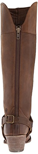 Ariat Womens Sadler Botte De Mode Occidentale En Détresse Marron