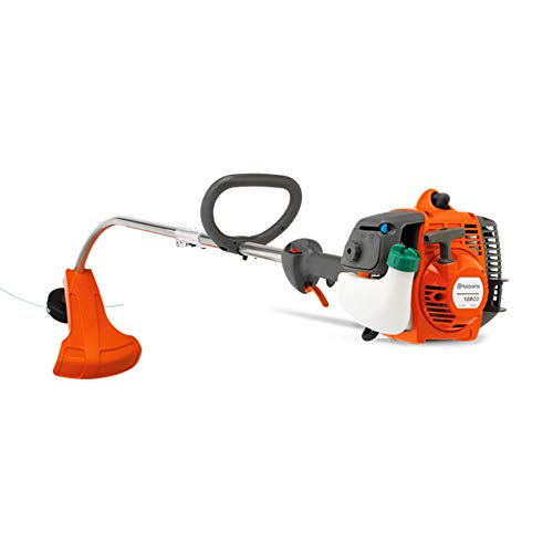 Husqvarna 128CD Gas Powered 1 HP Curved Shaft String Line Weed Grass Trimmer