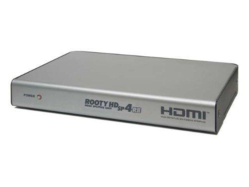 電波新聞社 ROOTY HD SP4/R2 HDMI分配器(4出力) DP3913476 B003LV0HHG