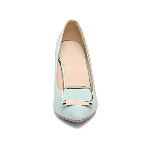 EU Compensées Femme 5 Sandales Bleu APL10834 BalaMasa 36 Bleu 48At1x
