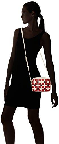 black cm Pu Ivory B rosso Love x Sacs nero red 6x15x21 Avorio Borsa T femme Multicolore baguette Moschino H Aw4qEP6