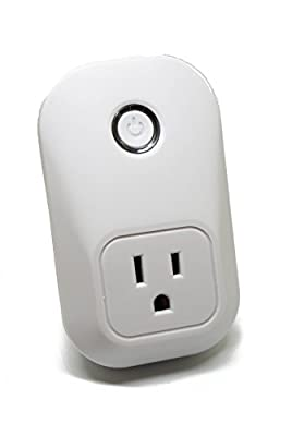 Wifi Smart Plug - Smart Outlet, No Hub Required, Works with Amazon Alexa, Wifi Remote Plug with Switch, Works as an Alexa Outlet - Turn On/Off Smart Socket from Anywhere by Live in Sync