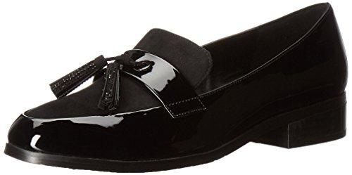 Kenneth Cole REACTION Women's Jet Ahead Dress Tassel Detail Patent Slip-on Loafer