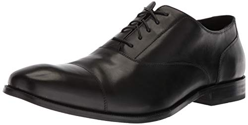 Cole Haan Men's Williams Cap Toe Oxford, Black, 10.5 M US