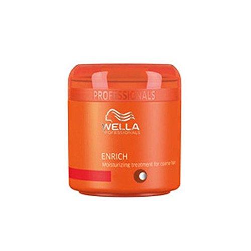 ウェラの専門家は粗い毛(150ミリリットル)のための保湿トリートメントを豊かに x4 - Wella Professionals Enrich Moisturising Treatment For Coarse Hair (150ml) (Pack of 4) [並行輸入品] B071NHCZFK