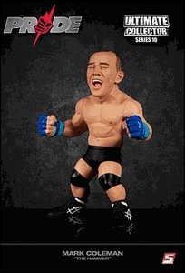 """Ufc Ultimate Collector Series 10 Action Figure - Mark """"the Hammer"""" Coleman"""