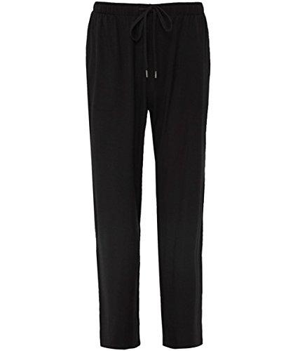 Derek Rose Men's Jersey Basel Lounge Pants Black XL by Derek Rose
