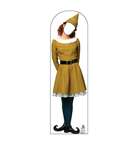 Advanced Graphics Female Elf Stand-in Life Size Cardboard Cutout Standup - Elf (2003 Film)