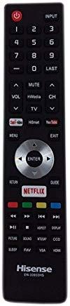 Original Hisense EN-33933HS TV Remote Control for 32K20DW 32K366W 40K366W 46K360M 50K366W televisions