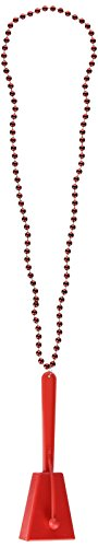 Beads w/Clacker (red) Party Accessory  (1 count) (1/Card)]()