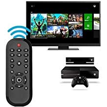 (Xbox One Remote Control Coolly Wireless Media Remote Control for Microsoft Xbox One for Controlling Playback of Blue-ray Disc/ Playing Video)