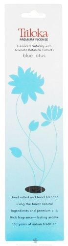 Triloka Incense Blue Lotus, 10 GR