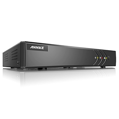 Cheap ANNKE 4CH 5-in-1 1080P Lite Home Security DVR Recorder with H.264+ HDMI Output, Motion-triggered email alert and Easy Remote View