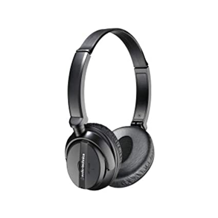 eacba66db0d038 Amazon.com: Audio-Technica ATH-ANC20 QuietPoint Active Noise-Cancelling On-Ear  Headphones: Electronics