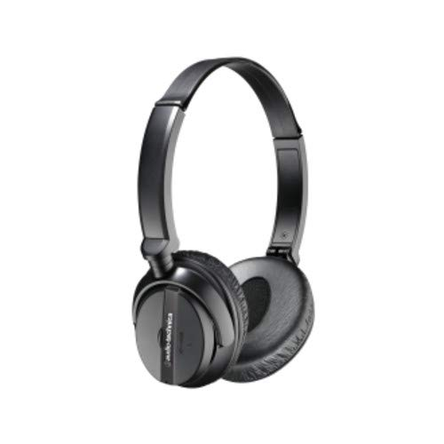 Audio-Technica ATH-ANC20 QuietPoint Active Noise-Cancelling On-Ear Headphones