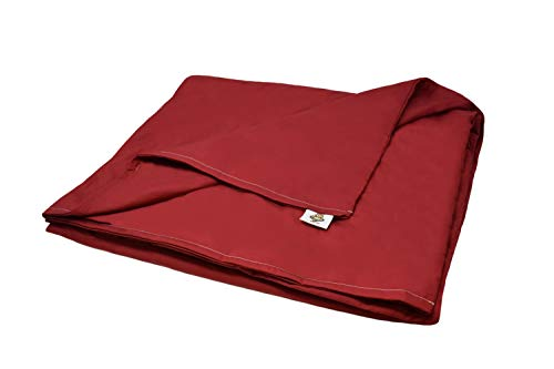 Cheap SENSORY GOODS - Child Small Weighted Blanket - Made in America - 7lb Heavy Pressure - Burgundy - Cooling 100% Organic Cotton (52 x 40 ) Provides Comfort and Relaxation. Black Friday & Cyber Monday 2019
