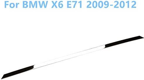 Acero inoxidable parachoques trasero protector moldura de coche 1pcs para coche accesorios bmx6: Amazon.es: Coche y moto