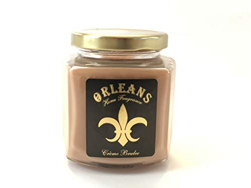 New Home Fragrance - Orleans Home Frangrances 9 oz Creme Brulee Candle