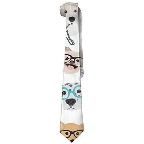 Many Dog With Sunglasses Design Mens Necktie Fashion Silk - Sunglasses India Wallpapers