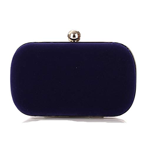 Red Royal De Bolso Franela color Mano Igspfbjn Mujer Blue dYqwa5x0