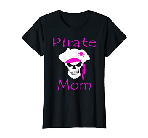 Womens Pirate day pirate mom pirates shirt DIY pirate costume T-Shirt]()