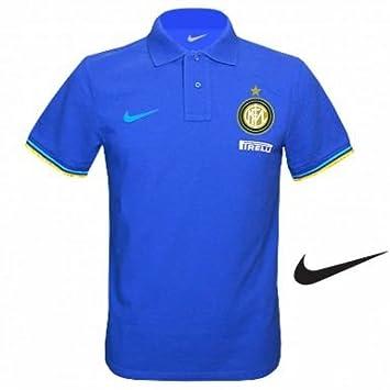 Inter Milan Crest Polo Shirt by Nike 84d3348ddd51