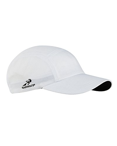 Team 365 Headsweats Performance Race Hat, White, One Size