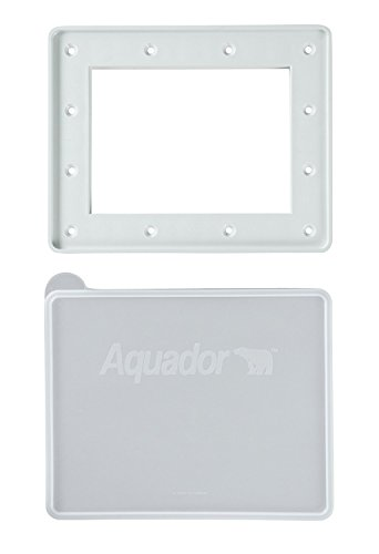 Aquador Closure Plate (Aquador 1084 Swimming Pool Winter In-Ground Skimmer Cover Plate Fits Hayward)