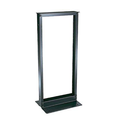 Panduit CMR19X84 Aluminum Cable Management Equipment Rack, Black by Panduit