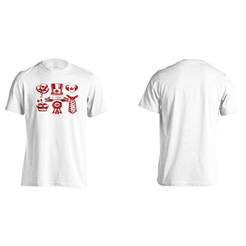 Neue Sieben Party Kanada Tag Herren T-Shirt l197m