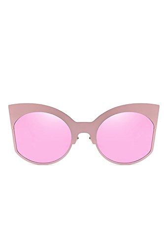 Gafas Tiro 1 De Calle De Ojo De Retro Sol Mujer Moda Bloque Fulgores Gato De vRxwqncHPT
