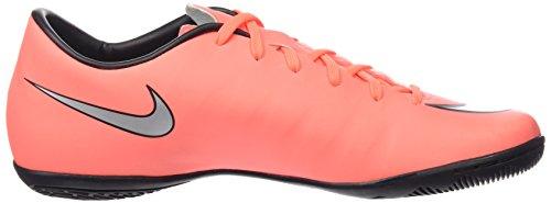 Nike Mens Mercurial Victory V Ic Scarpe Da Calcio Indoor Mango Brillante / Argento Metallizzato