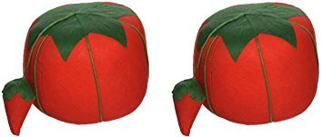 (1 Pack Dritz Dritz Large Tomato Pin Cushion (2 Pack) )