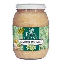 Eden Foods Sauerkraut, Og, Glass, 32-Ounce (Pack of 4)
