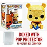 (Funko Pop! Disney: Diamond Collection Winnie The Pooh #252 Exclusive Collectible Vinyl Figure (Bundled with Pop Box Protector Case))