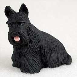 Scottish Terrier Miniature Dog Figurine