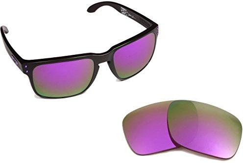 New SEEK Replacement Lenses Oakley HOLBROOK LX - Polarized - Iridium Lenses Holbrook Violet Oakley
