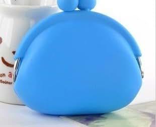 Domire Silicone Coin Purse Blue