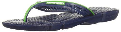 Havaianas Menns Sandal Flip Flop Marineblå Blå / Hvit